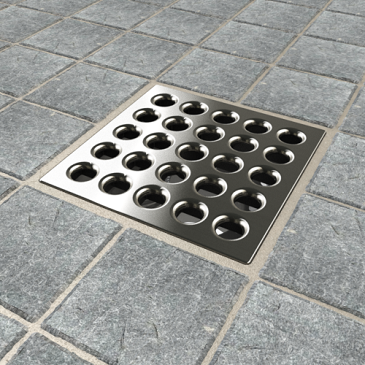Ebbe Pro-Drain Grate Brushed-Nickel-