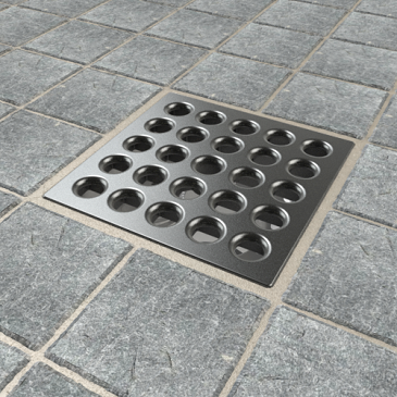 Ebbe Pro-Drain Grate antique_pewter