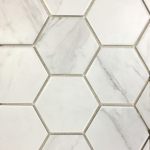 SUR Hexagon Natural Mosaic