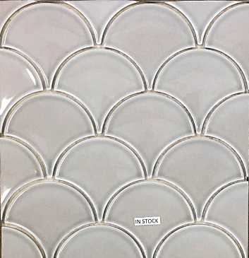 SUR Scallop Mosaic- Greige