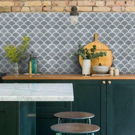 SUR Scallop Grey Mosaic