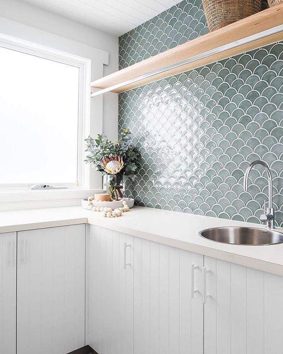 SUR Scallop Mosaic- Fern