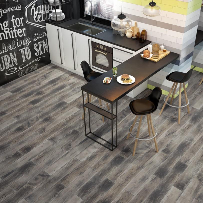 """YRT 6""""x36"""" BURNT PALLET WOOD PORCELAIN - Tile for Less Utah"""