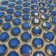 LAU Cobalt Bright Penny Round Mosaic