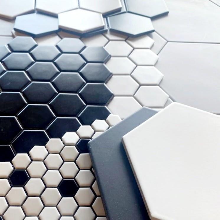 Hexagonal Pattern Tile Example