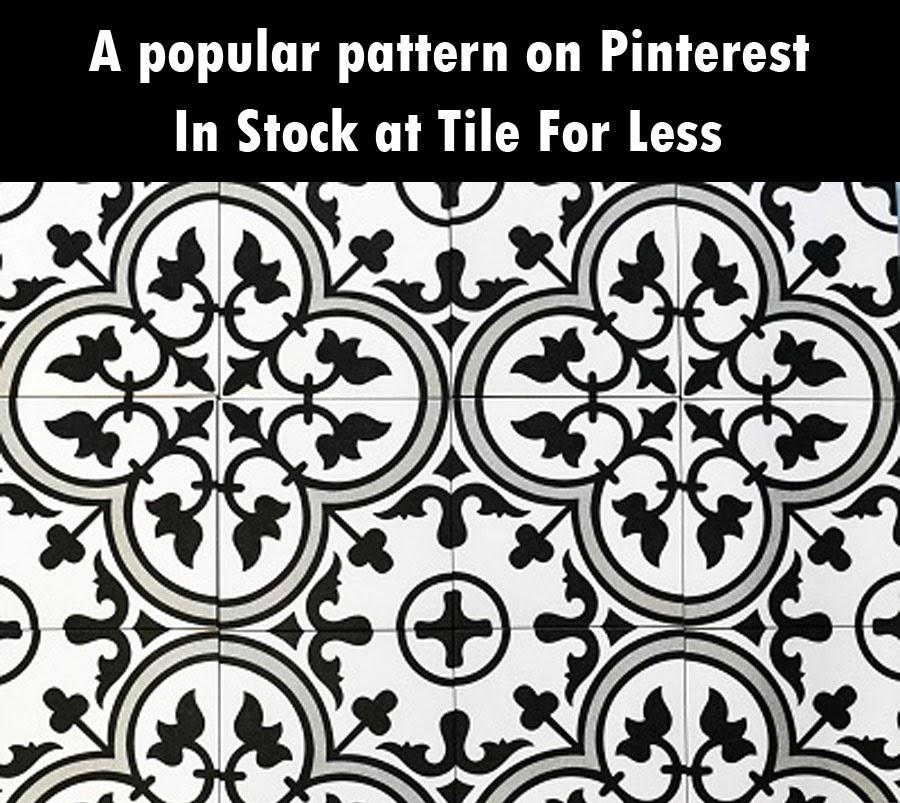 Pinterest Pattern Tile Look