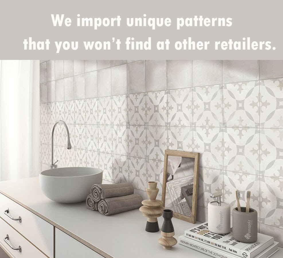Unique Pattern Tile Examples